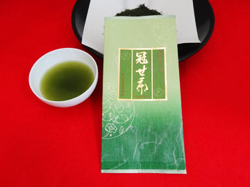 福岡の奥八女茶 かぶせ茶