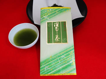 福岡の奥八女茶 深むし茶